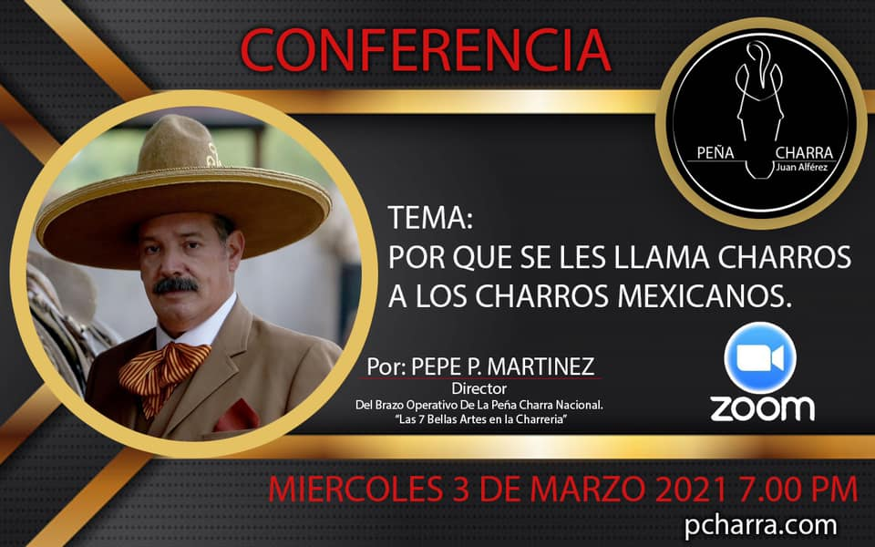 Peña Charra invita a una conferencia este miércoles