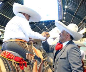 La inclusión en la Charrería es uno de los pilares del trabajo que día a día lleva a cabo el presidente de la Federación Mexicana de Charrería, José Antonio Salcedo López